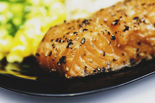 Filet de poisson du jour, tagliatelles au pistou et petits légumes