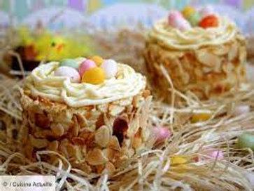 Nid de Pâques au chocolat et miel