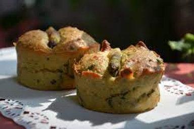 Muffin aux asperges