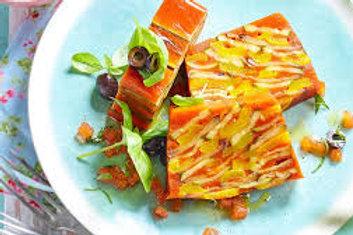 Terrine de légumes (carottes, courgettes, brocolis)