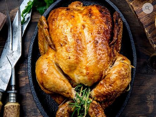 Le moyen poulet rôti (2/3 personnes)