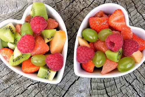 Salade de fruits ( mangue, kiwi)