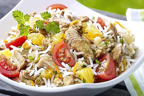 Fraich'Bol Océane ( riz, thon, tomates, mais, sardines marinées)