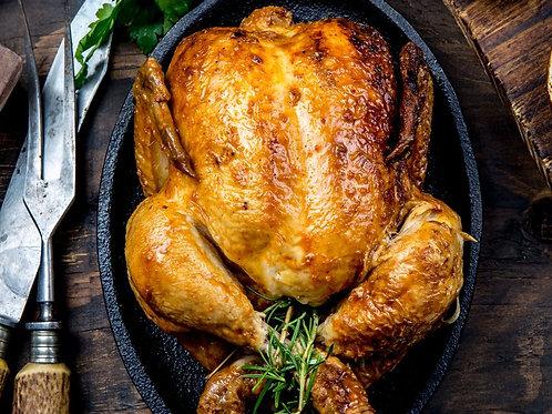 Le petit poulet fermier de Janzé rôti