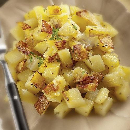 Irish Stew végé (Ragoût à l'Irlandaise), pommes de terre vapeurs
