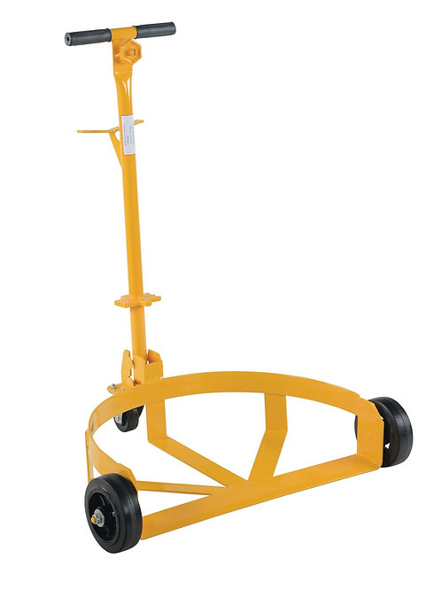 Mold-On Rubber Lo-Profile Drum Caddie 1000 lbs. capacity