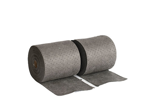 "15""x150' Gray Universal Heavy Weight Split Roll"