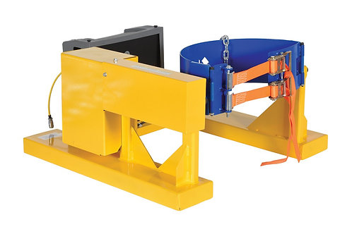 DC Electric Fork Truck Drum Carrier/Rotator 1200lbs