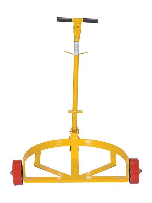 Poly On Steel Lo-Profile Drum Caddie 1200 lbs. Capacity