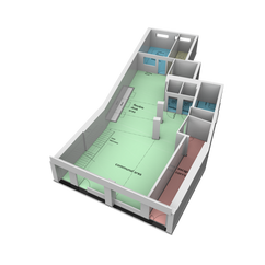 1:50 Scale Architectual Model - YMCO