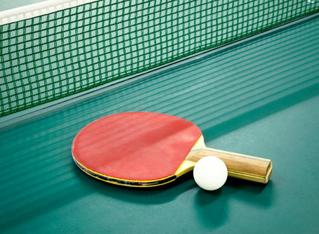 In the zone: A ping pong story