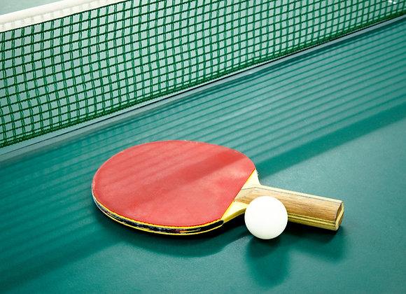 Tischtennis Wertekarte