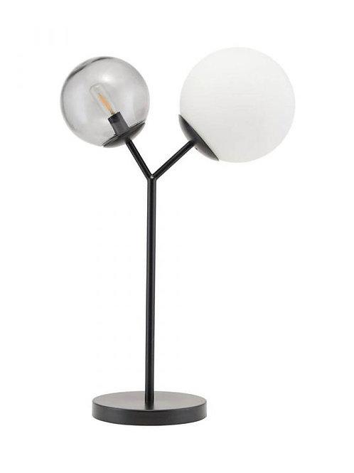 Lámpara de mesa Twice Negra House Doctor