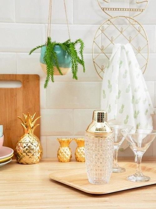 Coctelera con vaso de cristal Bloomingville