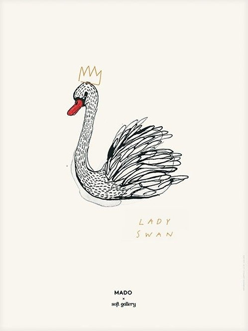 PÓSTER LADY SWAN/ BY MADO