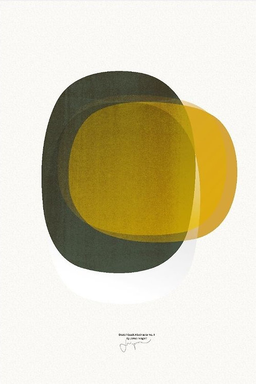 PÓSTER SKETCHBOOK ABSTRACTS 01- BY JONAS WAGELL
