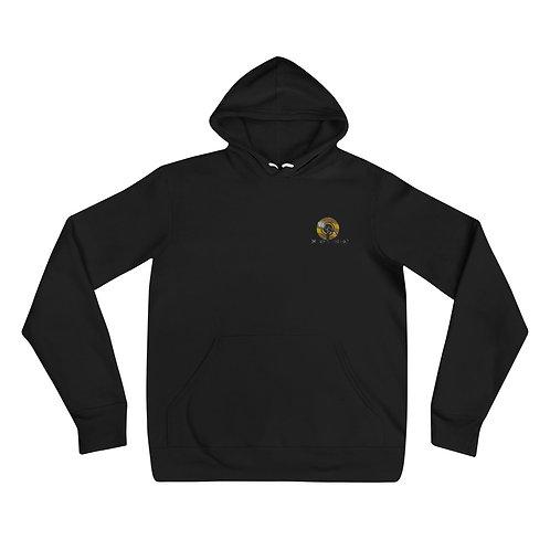 U.R. Embroidered Logo Unisex hoodie