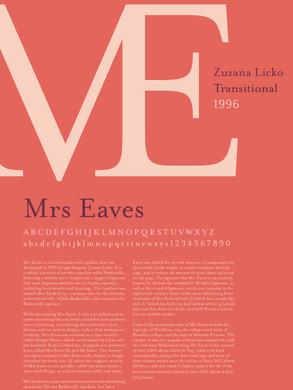 Mrs Eaves