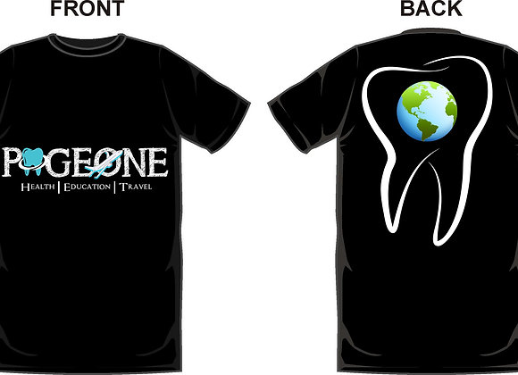 Black Page-One T-shirt