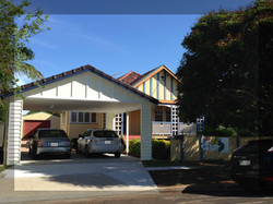 Double storey addition 2 seperate living areas plus carport