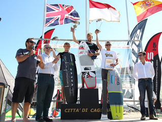 European kitefoil championship finished very successfully for ELF-team!