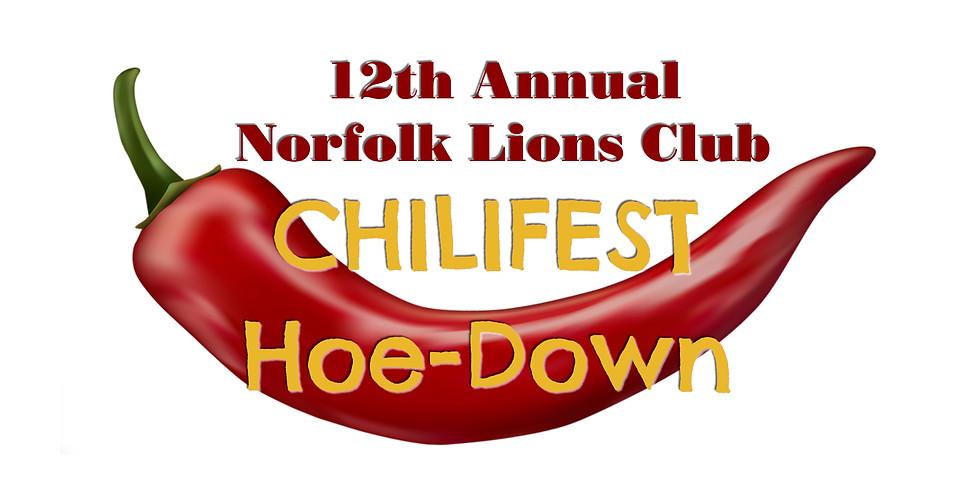 2019 Chilifest Hoe-Down