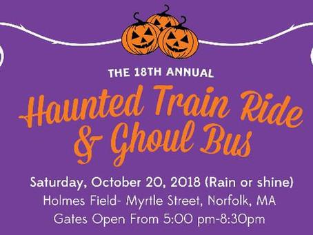 Haunted Train Ride Ticket Sales Update