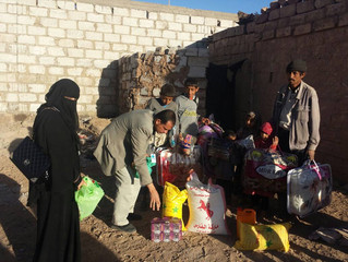 Monareliefye.org delivering urgent aid in Dhamar
