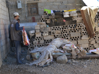 Monareliefye.org distributing 600 blankets to IDPs and vulnerable families in Sana'a