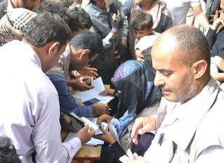 Monareliefye.org distributes 100 food aid baskets in Sana'a