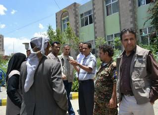 منظمة منى للاغاثة تقدم 400 حقيبة صحية للمصابين بوباء الكوليرا وللمرضى بالمستشفى الجمهوري بصنعاء