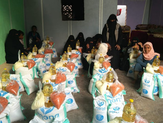 FOOD DISTRIBUTION 7. OCTOBER 2020, HODEIDAH