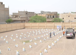 Monareliefye.org distributes 106 food baskets in Hodeidah