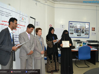 Mona Relief's volunteers receiving for the second time training on Child Protection field provid