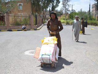 منظمة منى تستهدف ابناء الطائفة اليهودية في اليمن للمرة الثانية على التوالي بالمساعدات الغذائية
