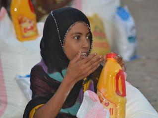 Mona Relief delivering urgent aid to families in al-Tuhita of Hodeidah