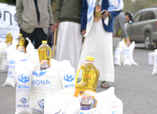 Monareliefye.org delivering critical food aid funded by the UK based charity Khalsa Aid to Jewish mi
