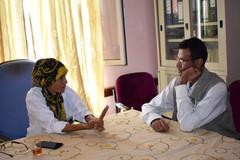 د. مكية مهدي، منطقة اسلم لا تشكل بؤرة لانتشار مرض سوء التغذية فقط، بل ان كافة مديريات حجة تعاني من ا