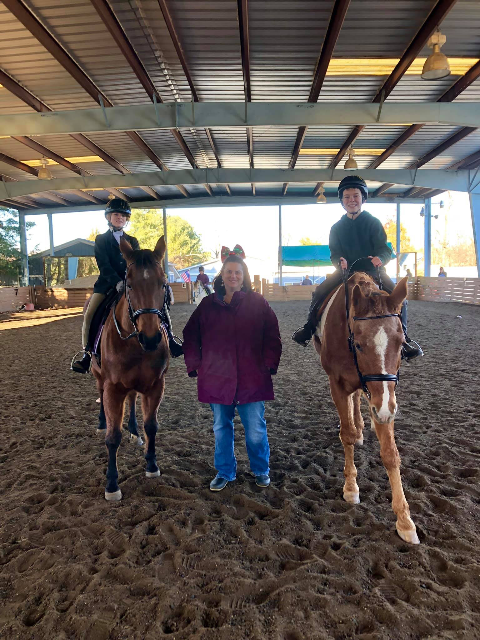 Michelle and Rider Show 2019