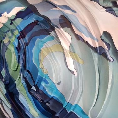 COLOR SPLASH SERIES: Wave.  [Detail] 2015