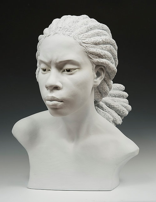 THE DREAM CONTINUED [Bust detail]: Imani's Dream.