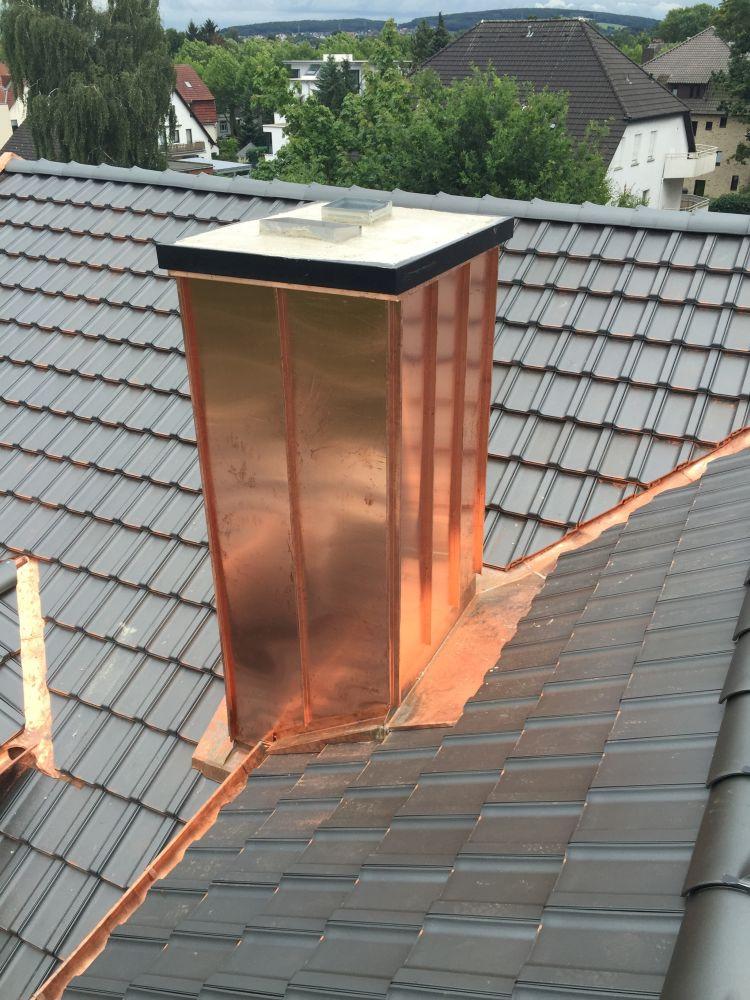 Schornstein Stehfakz Kupfer