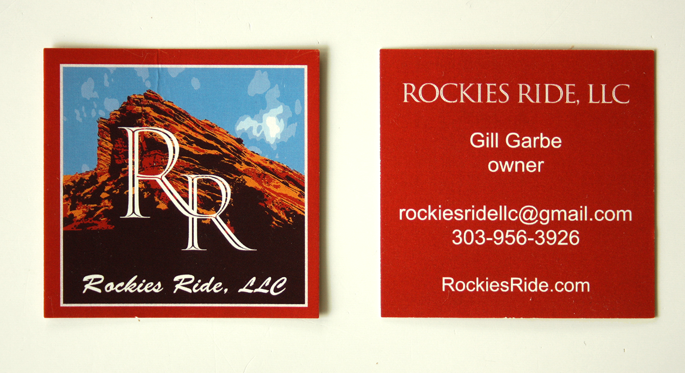 Rockies Ride Business Card
