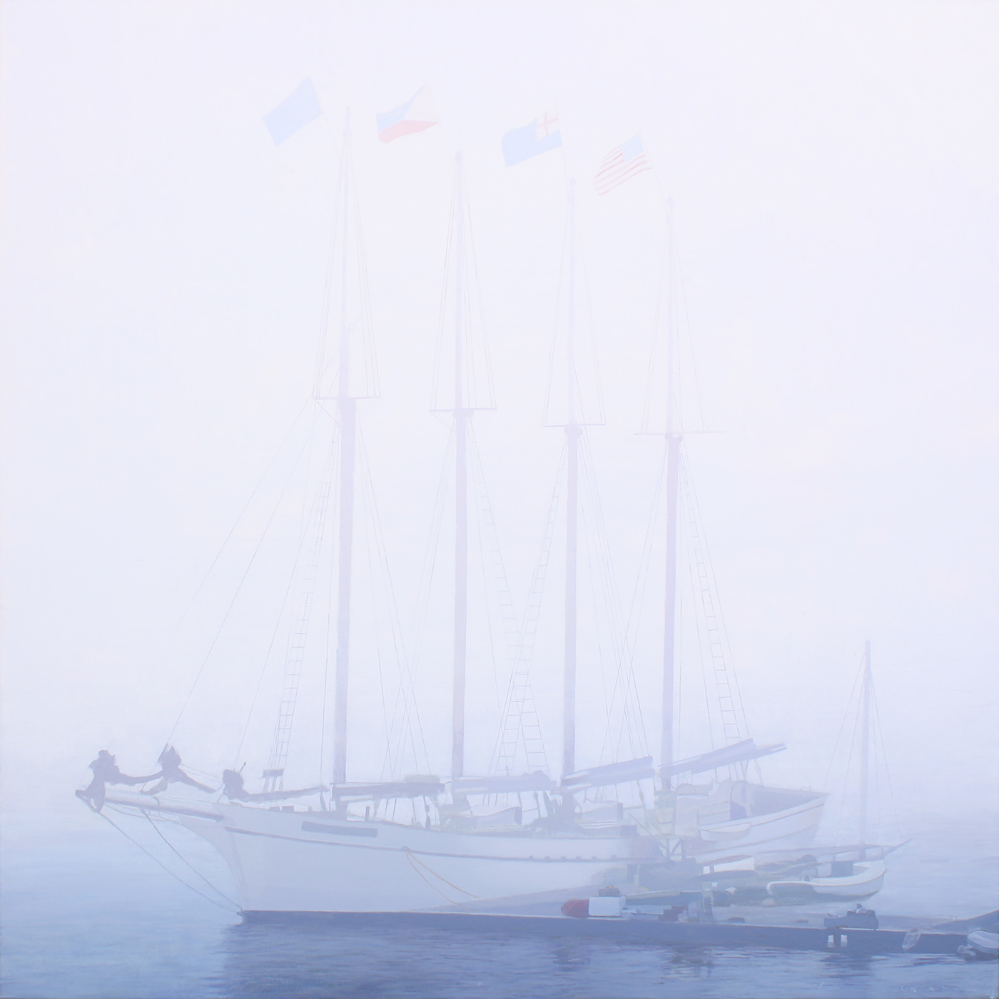Morning Fog (Bar Harbor, ME)
