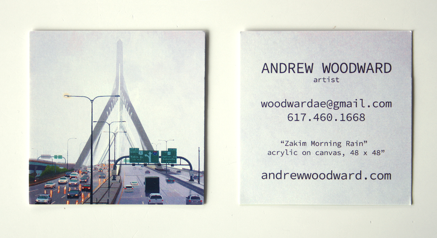 Zakim Rain Business Card