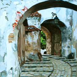 Path to Sighisoara