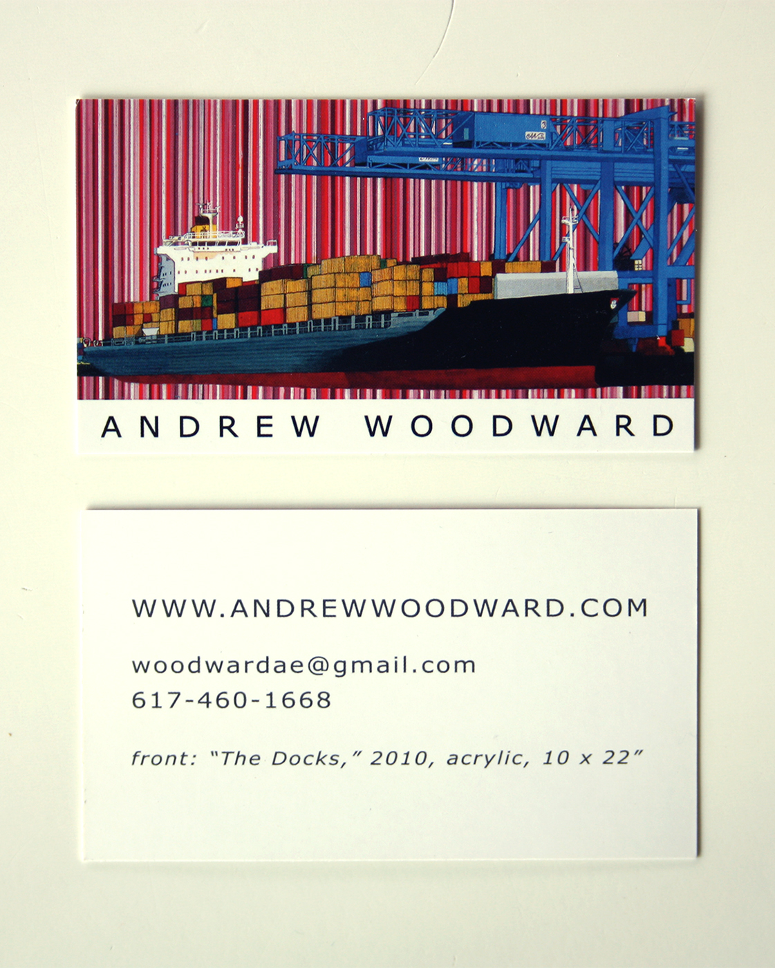The Docks Business Card