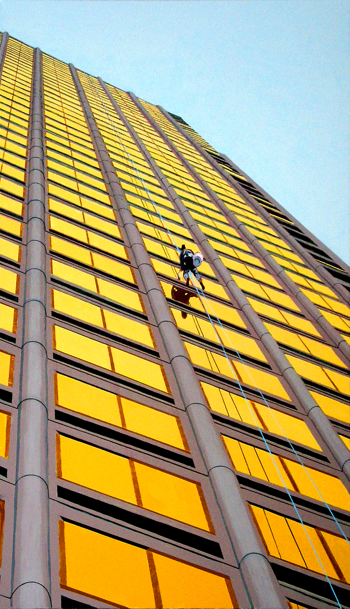 Floating Window Washer