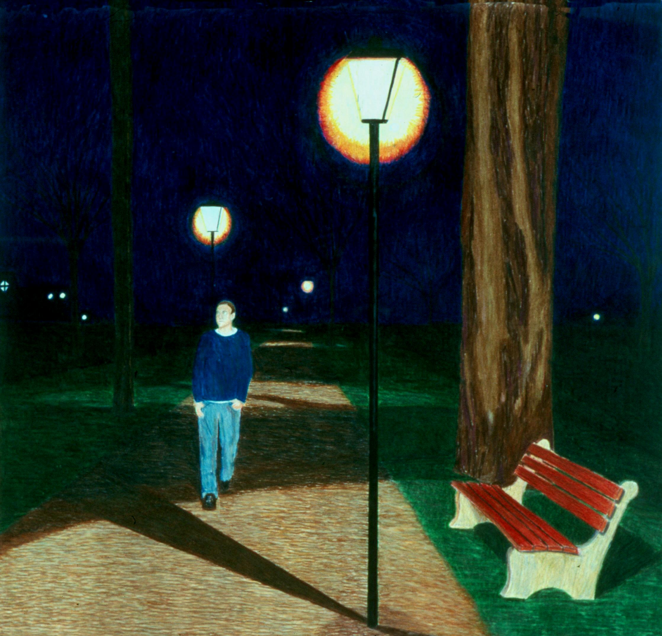 Night Lights, Walking the Path
