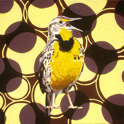 North Dakota Western Meadowlark